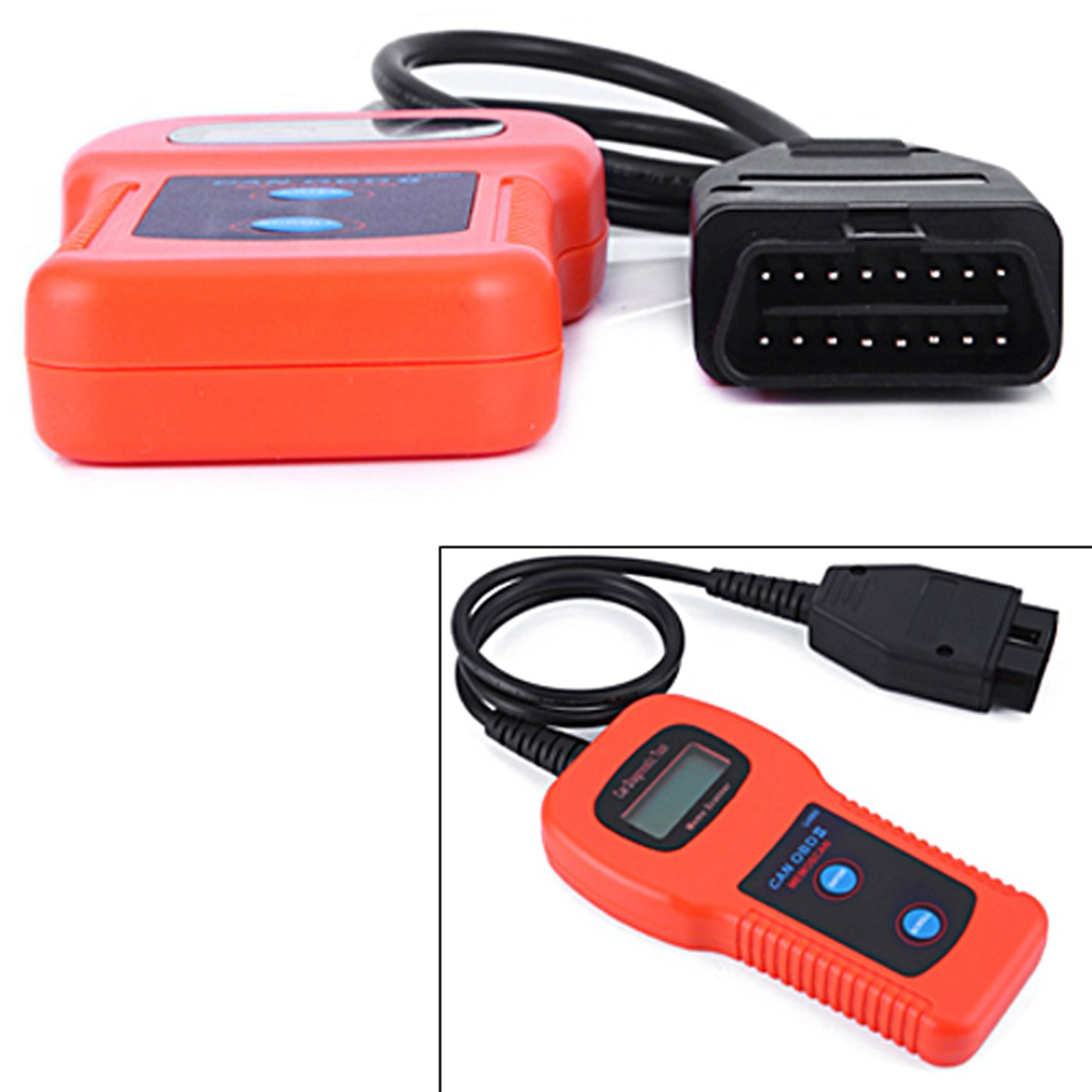 HDE U480 CAN-BUS OBD2 OBDII Car Scanner Universal Fault Code Reader Auto Diagnostics Tool Check Engine Light with LED Display by HDE (Image #2)