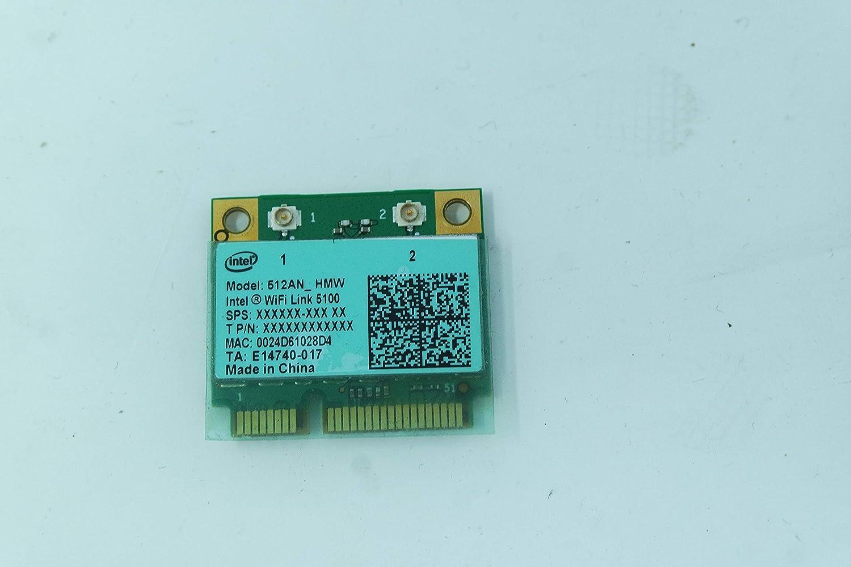 COMPRO PC Tarjeta de Red Wireless para Sony VGN-NW12Z Intel 512 AN ...