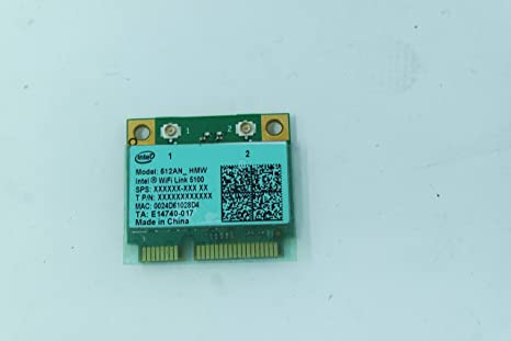 COMPRO PC Tarjeta de Red Wireless para Sony VGN-NW12Z Intel ...