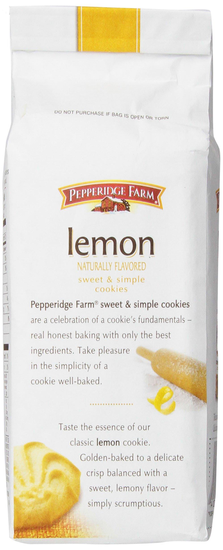 Pepperidge Farm Lemon Cookies, 6 Ounce (Pack of 8) by Pepperidge Farm (Image #5)