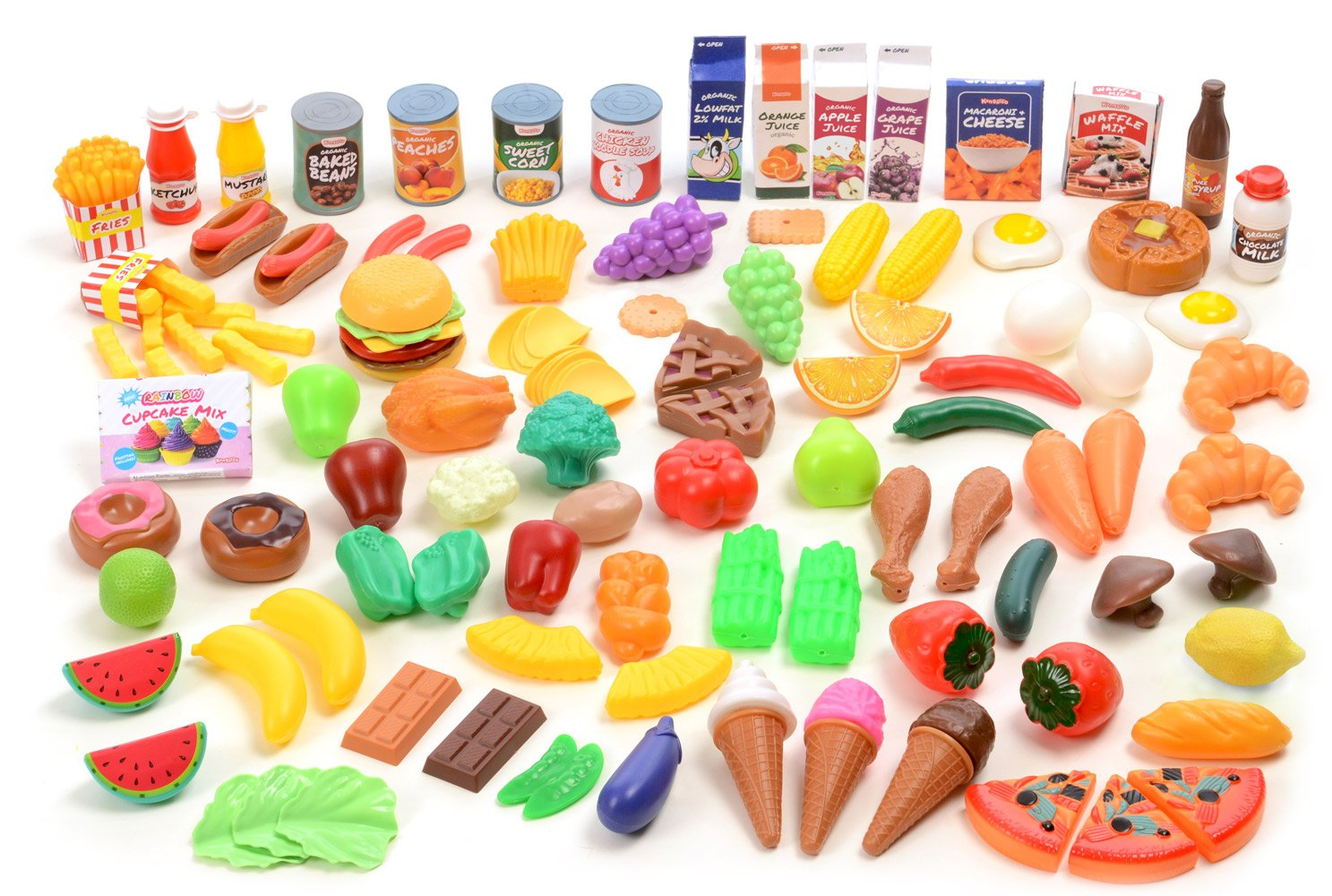 Toy Food For Toddlers : Fun play food set for kids kitchen cooking kid toy pretend