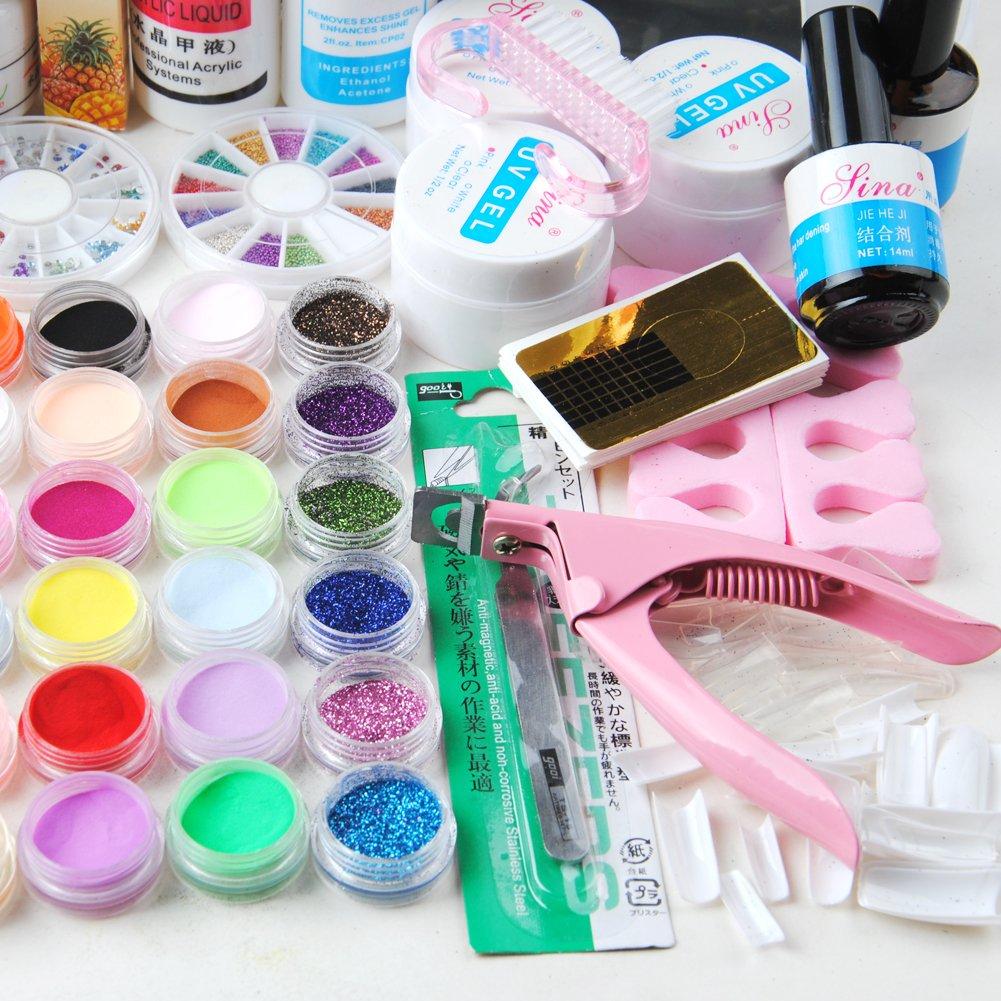 Amazon.com: Nail Dryer 9w Uv Dryer Lamp 24 Colors Acrylic Powder ...