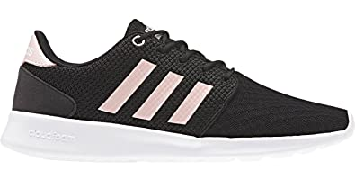 detailed look 8f68b 8861c adidas Womens Womens Cloudfoam QT Racer LMT Trainers in Black Pink - UK 3.5