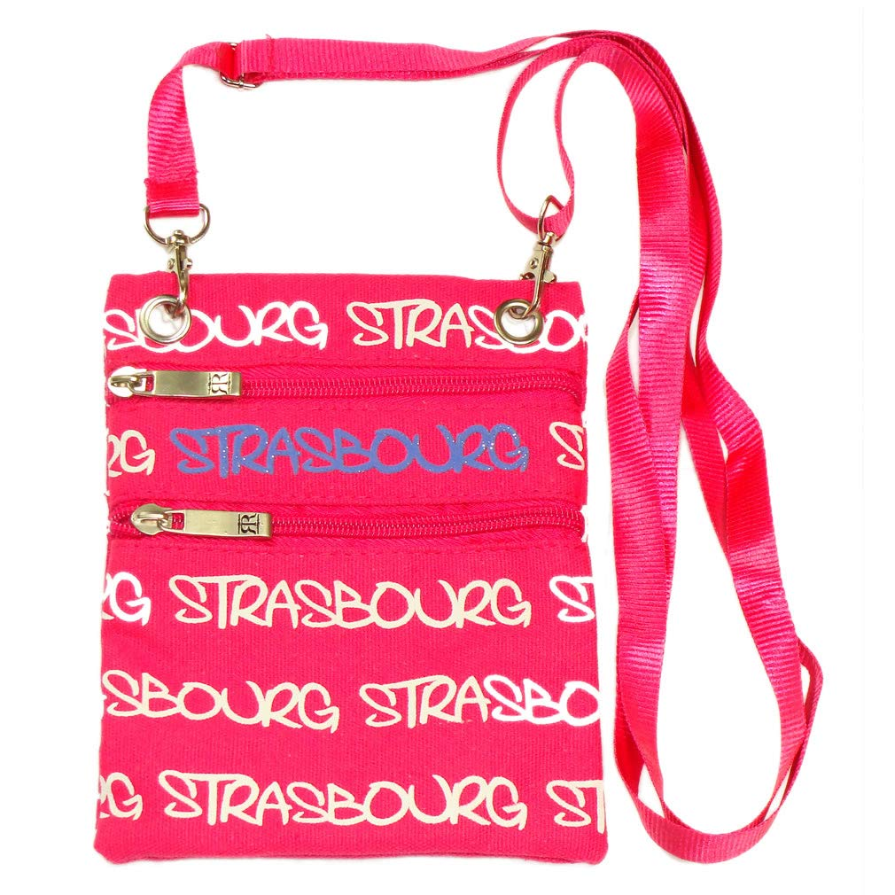 Fuchsia Strasbourg Robin Ruth Passport Bag