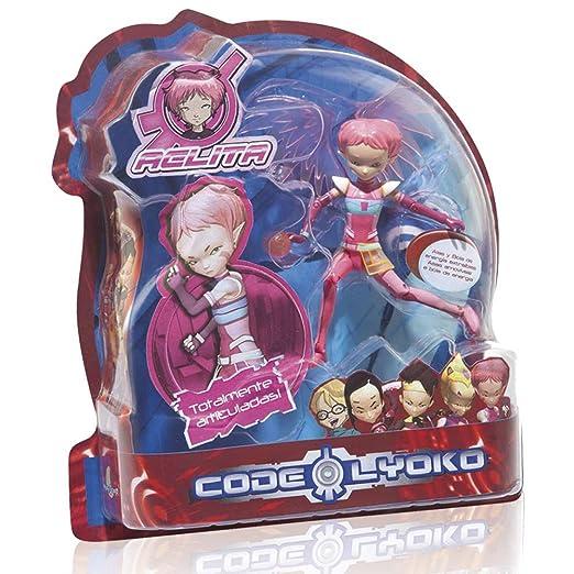 SIMBA Código Lyoko - Figura Oddde 15 cm, con patinete, color ...