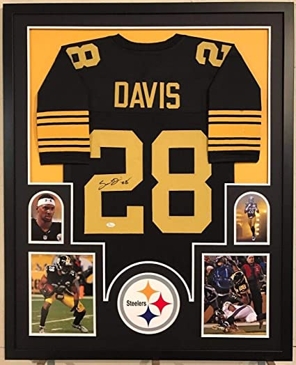 e721c3adf44 Framed Sean Davis Autographed Signed Pittsburgh Steelers Jersey - JSA  Authentic at Amazon's Sports Collectibles Store