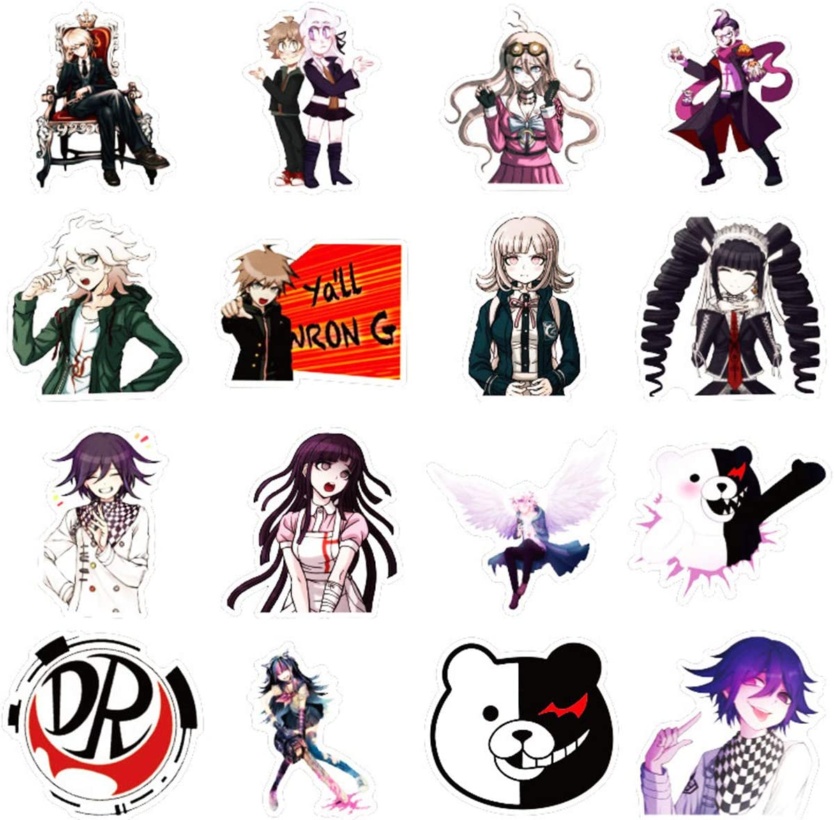 Anime  Danganronpa 5 Pack of Stickers