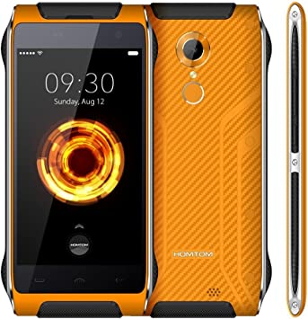 Homtom HT20 Pro Smartphone 4 G, IP68 resistente al agua ...
