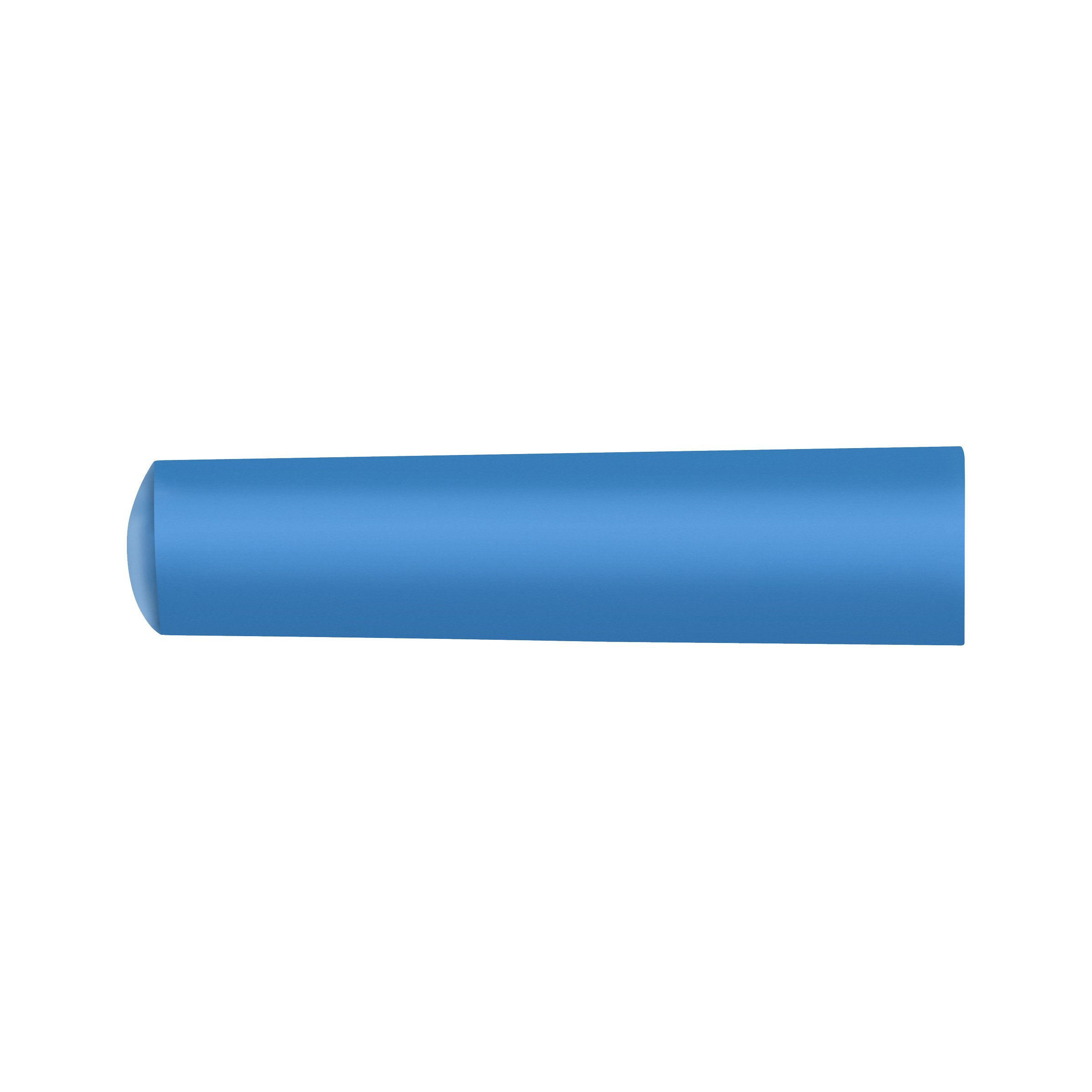 Markal Railroad Chalk for Temporary Marks, 4'' Length, 1'' Width, Blue (Pack of 144)