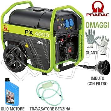 PRAMAC - Generador Px4000 Kit Ruedas Pramac 3,3 Kva: Amazon.es: Bricolaje y herramientas
