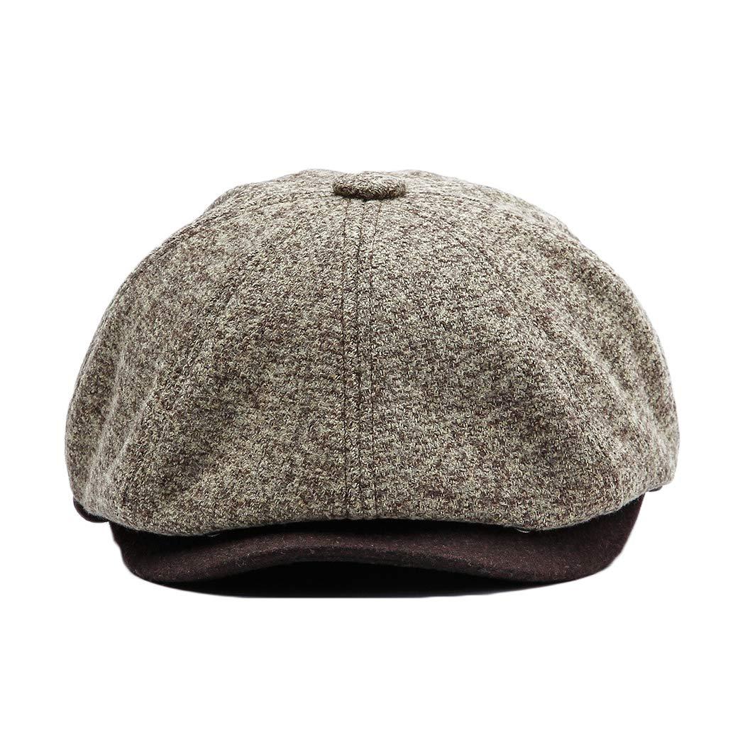 Cappello invernali Anshili Uomo Berretti (Grigio chiaro)