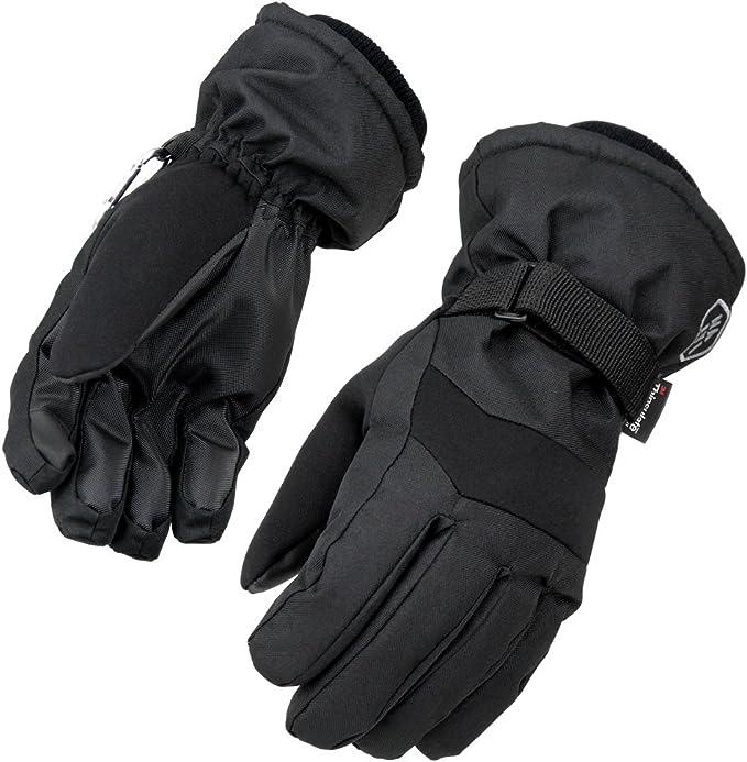 MEIYIN Kids Gloves Winter Warm Outdoor Sports Ski Gloves Waterproof Windproof Sports Gloves
