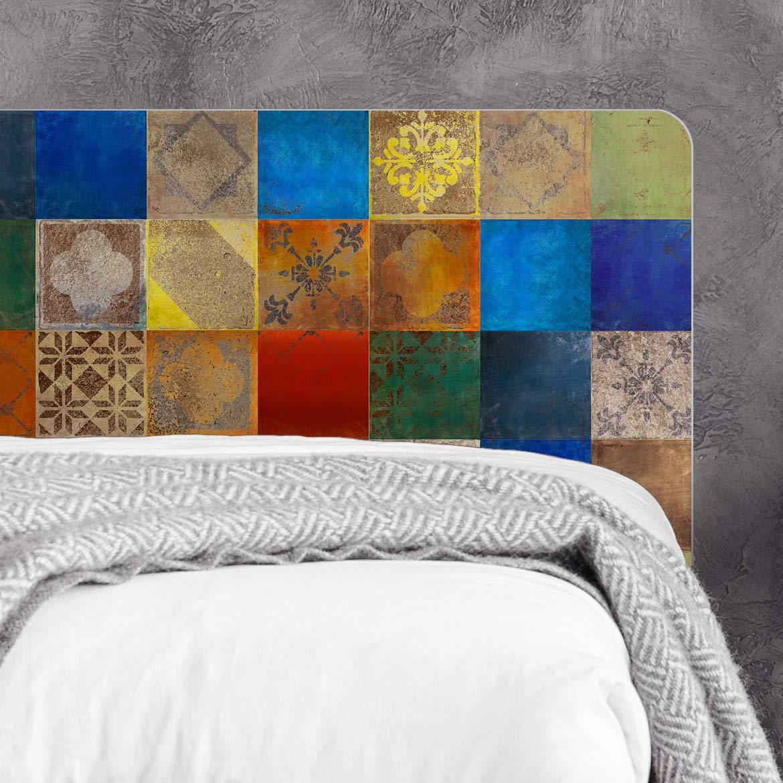 3C OuYou Papel Pintado Extra Grueso no Tejido Flocado Papel Pintado la Curvada 3D Minimalista para Sala de estar Dormitorio