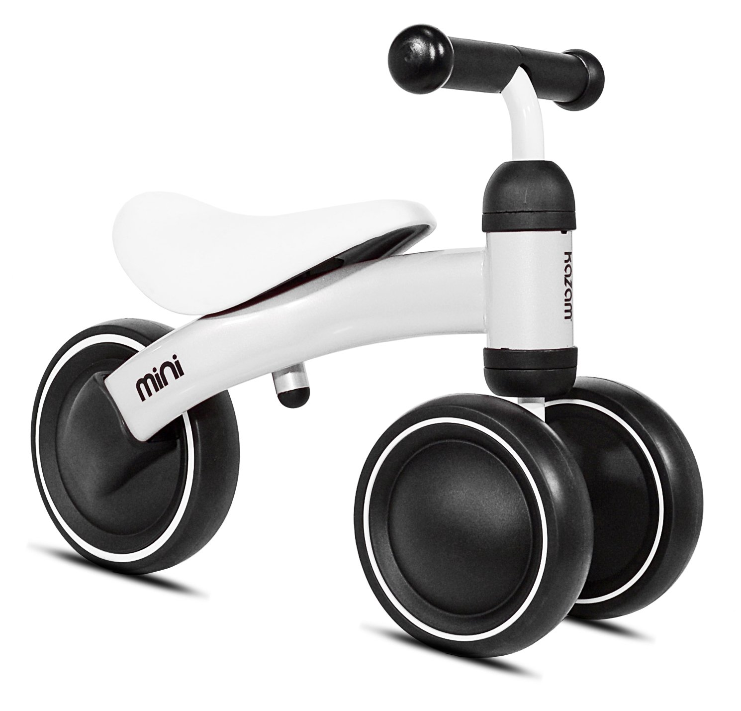 KaZAM Mini Trike—The Perfect Trike For Toddlers, Safe and Comfortable, Lightweight and Durable, For Ages 12+ Months. A Great Way To Develop Motor Skills And Have Fun! White