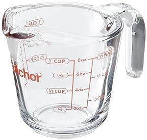 Anchor Hocking - 8 oz Measuring Cup