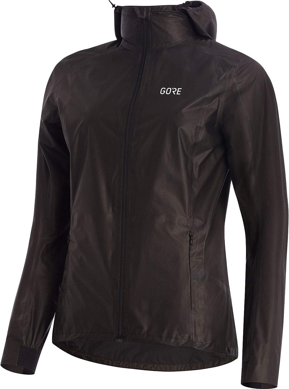 Black Gore R7 Womens Gore-Tex Shakedry Trail Hooded Jacket