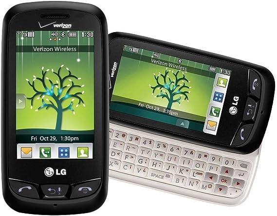LG Cosmos Touch VN270 Verizon teléfono Celular/Pantalla táctil/Teclado QWERTY/sin Plan de Datos