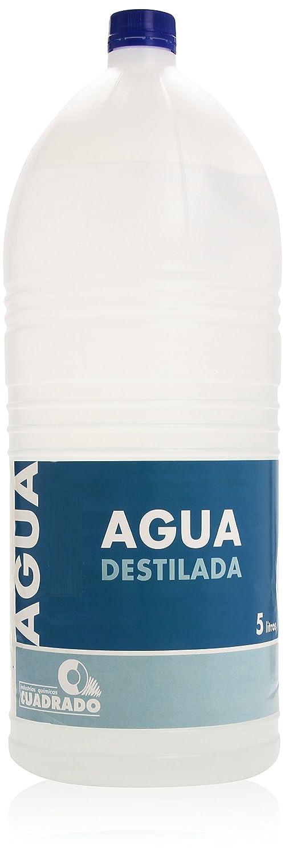 Quadratisch Destilliertes Wasser Kanister 5 L. CADYSSA