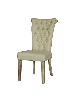 6 x silla de comedor de crema far funda de silla de comedor ...