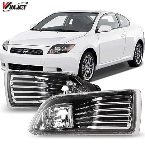 amazon com: winjet wj30-0070-09 oem series [ [2005-2010 scion tc] driving  fog lights: automotive