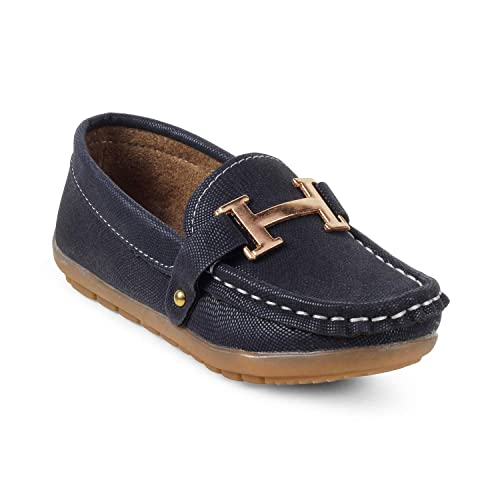 ff09425d857 KITTENS Boys Blue Slip-on Loafers  Buy Online at Low Prices in India -  Amazon.in