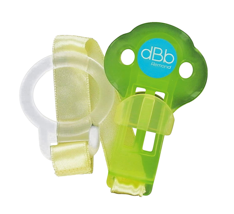 dBb Remond 170809 - Enganche con anilla para chupetes, color verde