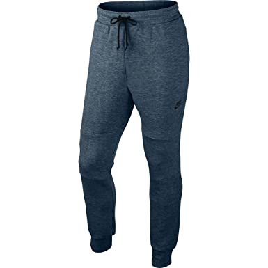 1dc93b41e051 Nike Men s Tech Fleece Pants Squadron Blue Black Heather Black 545343-460