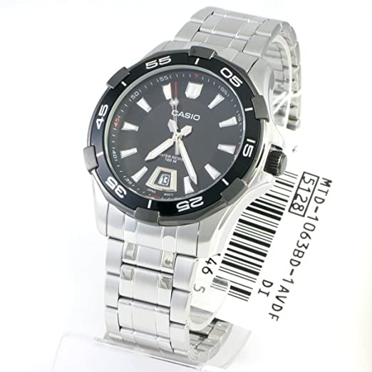 77c39e1b6169 Casio General de hombre Relojes analógico estándar mtd-1063bd-1avdf - WW   Amazon.es  Relojes