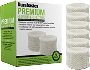 6 Pack of Premium Humidifier Filters Compatible with Honeywell HAC-504, HAC-504AW, & Filter A, Replacement for Honeywell HCM 350, HCM350, HCM350W, HCM350B, and Other of Cool Mist Humidifier Models