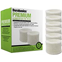 6 Pack of Premium Humidifier Filters Compatible with Honeywell HAC-504, HAC-504AW, & Filter A, Replacement for Honeywell…