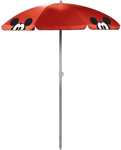 Disney Classics Mickey Minnie Mouse Outdoor Canopy Sunshade Umbrella 5.5