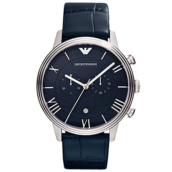 0e7e483d420c Emporio Armani AR1652 - Reloj cronógrafo de Cuarzo para Hombre ...