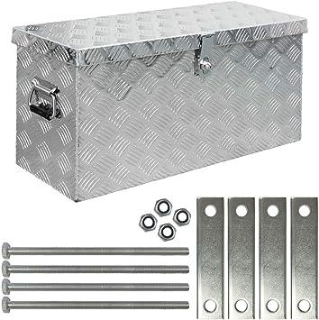 Truck Box Caja de Herramientas Maletín de Herramientas Montaje Aluminio Alu Box D080 Trucky: Amazon.es: Bricolaje y herramientas