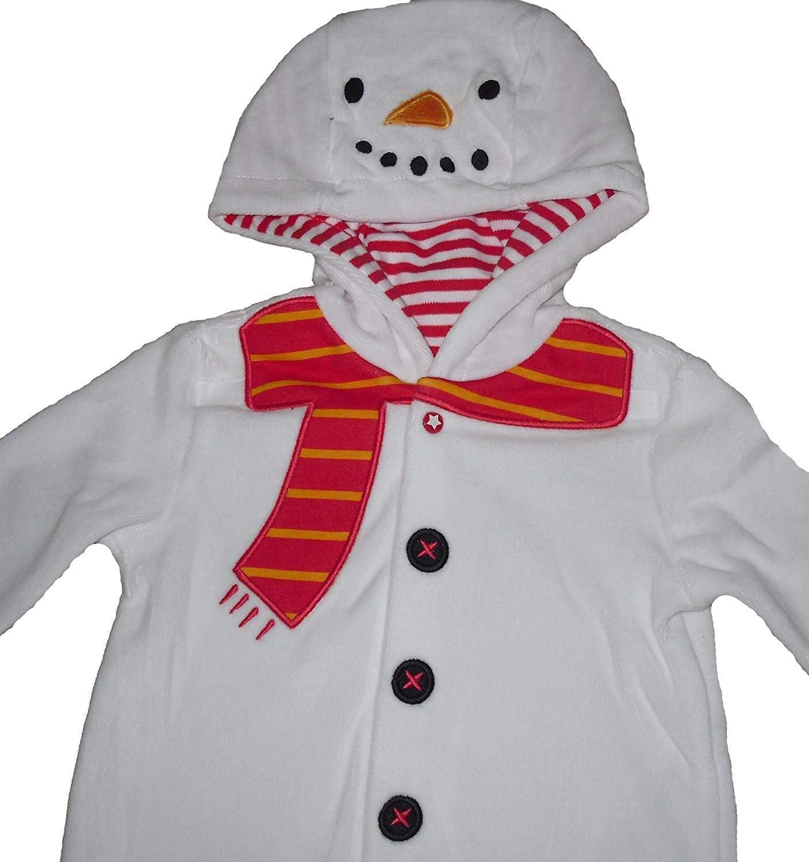 9-12 months Baby Boys Girls Onesie Sleepsuit Baby Grow ALL Inn One Pyjamas Snowman Christmas