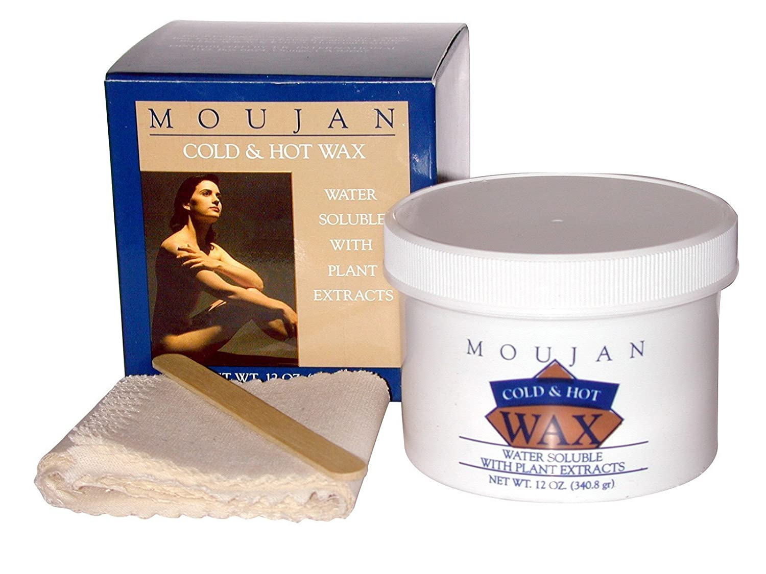 MOUJAN 2000 Wax M12 Cold Hot Kit 12-Ounce 1 Count M-12