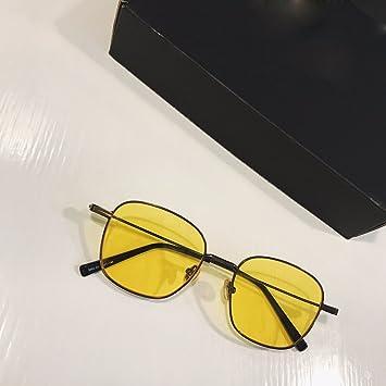 LXKMTYJ- Gafas de sol con espejo plano, color Hipster ...