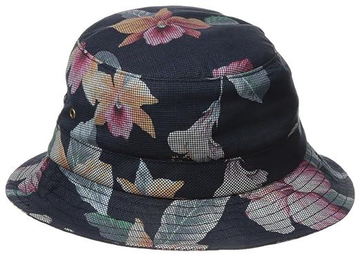 lowest price 282a0 ee859 HUF Men s Aloha Aina Bucket Hat, Black, Large X-Large