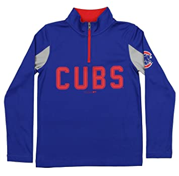 official photos 8f0f5 f43b6 Outerstuff MLB Youth Boys 1/4 Zip Performance Long Sleeve Top, Various Teams