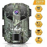 WiMiUS Caméra de Chasse 16MP 1080P HD IP66 Étanche avec Vision Nocturne 70ft / 20m 940nm LED Infrarouge, 2'' LCD Camera Detecteur de Mouvement Animaux pour la Surveillance de la Faune et la Sécurité