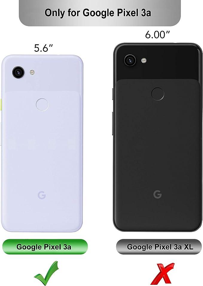 iBetter para Google Pixel 3a Funda, Fina de Silicona Funda, para ...