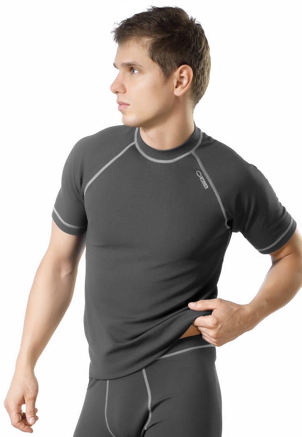 gWINNER ® Herren Funktionsunterwäsche - Kurzarm Shirt – SILVERPLUS® CLASSIC V - SOFT Line