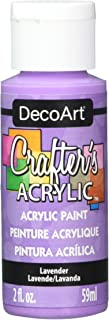 product image for DecoArt Crafter's Acrylic Paint, 2-Ounce, Lavender