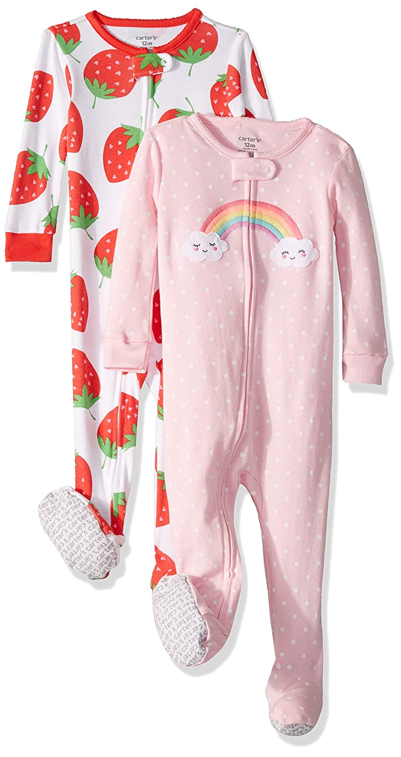 a6a1ffc95b8b Amazon.com  Carter s Girls  2-Pack Cotton Pajamas  Clothing