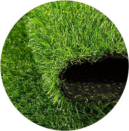 YNGJUEN Césped Artificial de 25 mm de Altura, Varios tamaños, césped de jardín, césped de Vacaciones de Alta Densidad (tamaño: 2 mx1 m) (Size : 2x3m): Amazon.es: Hogar