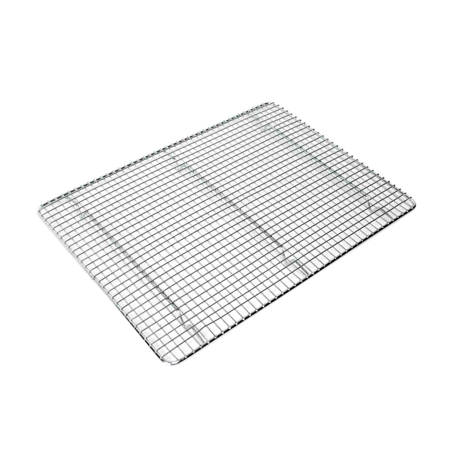 Excellante Icing/Cooling Rack with Built-In Feet, Chrome, 16.125 by 24-3/4-Inch by Excellanté
