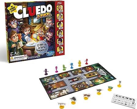 Hasbro Gaming- Juegos Cluedo Junior (Versión Española ...