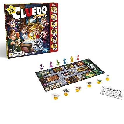 Hasbro Gaming- Juegos Cluedo Junior (Versión Española) (C1293105)