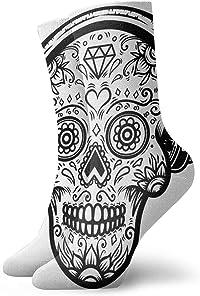 chaussettes tête de mort velo 2
