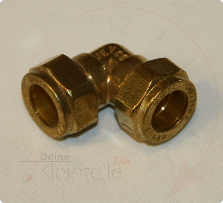 15mm 1//2ag Klemmringverschraubung f/ür Kupferrohr /Übergang PEX PE-X Fittings Conex 5 St/ück