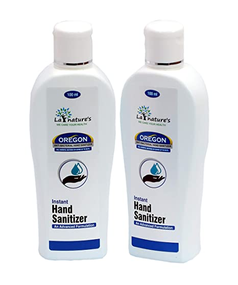 Buy La Natures Hand Sanitizer With Isopropyl Alcohol 100 Ml Pack